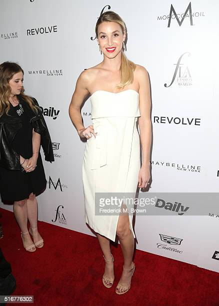 Designer Whitney Port attends the Daily Front Row 'Fashion Los Angeles Awards' at Sunset Tower Hotel on March 20 2016 in West Hollywood California