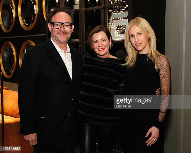 Designer William Peace designer Beth Webb and author Emily Giffin attend the RH Atlanta The Gallery at the Estate in Buckhead opening celebration on...