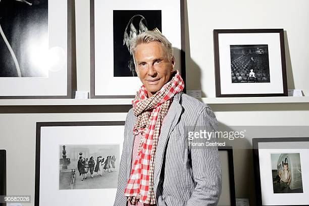 Designer Wolfgang Joop attends his vernissage at Lumas on September 10 2009 in Berlin Germany