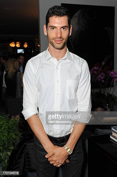 Designer Yotam Soloman attends Jeremy Renner's and Kristoffer Winters' celebration of the launch of Robb Report Home Style on June 6 2013 in Los...