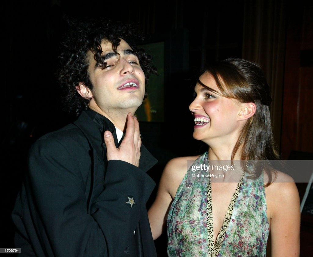 Zac Posen And Natalie Portman At New Year's Eve Party At Hudson Hotel : News Photo