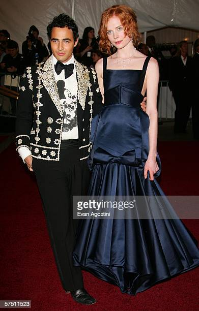 Designer Zac Posen and Jessica Joffe attend the Metropolitan Museum of Art Costume Institute Benefit Gala Anglomania at the Metropolitan Museum of...