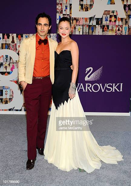 Designer Zac Posen and model Devon Aoki attend the 2010 CFDA Fashion Awards at Alice Tully Hall at Lincoln Center on June 7 2010 in New York City
