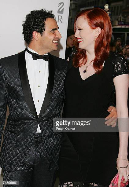 Designer Zac Posen and model Karen Elson attend the 25th Anniversary of the Annual CFDA Fashion Awards held at the New York Public Library on June 4...