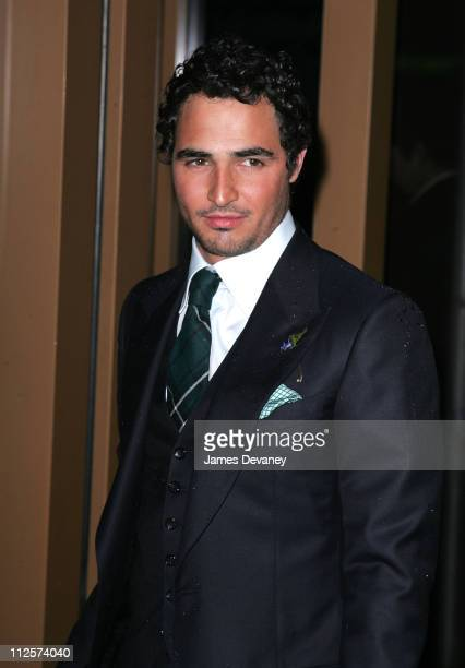 """Designer Zac Posen arrives at the Private Screening of """"The Other Boleyn Girl"""" at the Regal Cinemas on February 26, 2008 in New York City."""