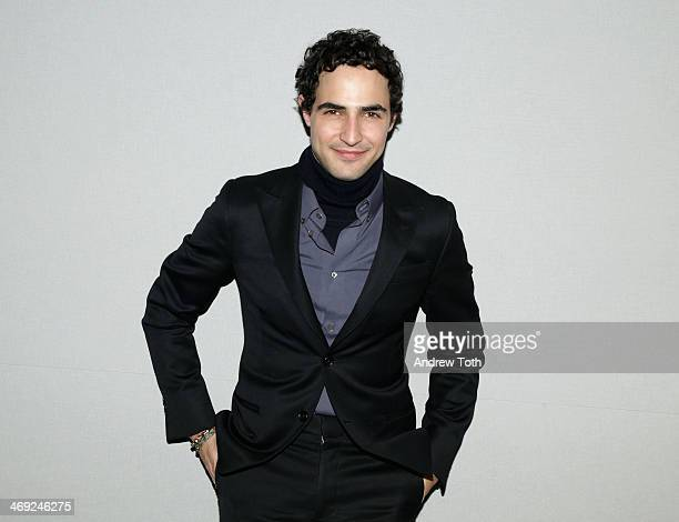 Designer Zac Posen attends Apple Store Soho Presents Fashion In Conversation Zac Posen With Kinvara Balfour at Apple Store Soho on February 13 2014...