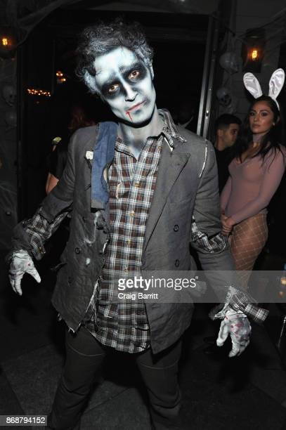 Designer Zac Posen attends Heidi Klum's 18th Annual Halloween Party sponsored by Party City and SVEDKA Vodka at Magic Hour at Moxy Times Square on...