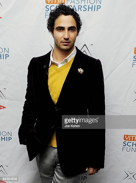 Designer Zac Posen attends the 2008 YMA Fashion Scholarship Fund Roundtable Discussion at Director's Guild of America on December 2, 2008 in New York...