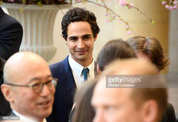 Designer Zac Posen attends the Anna Wintour Costume Center Grand Opening at the Metropolitan Museum of Art on May 5 2014 in New York City