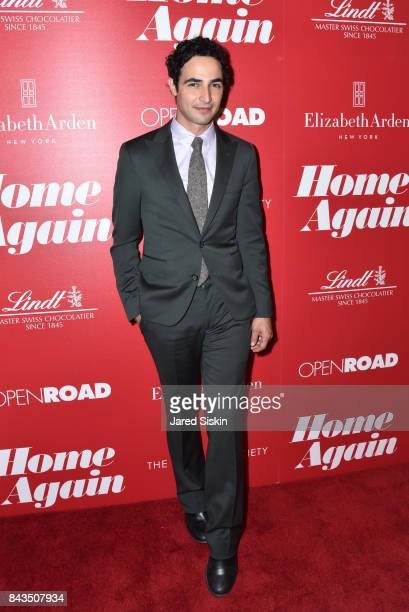 Designer Zac Posen attends The Cinema Society with Elizabeth Arden Lindt Chocolate host a screening of Open Road Films' Home Again at The Paley...