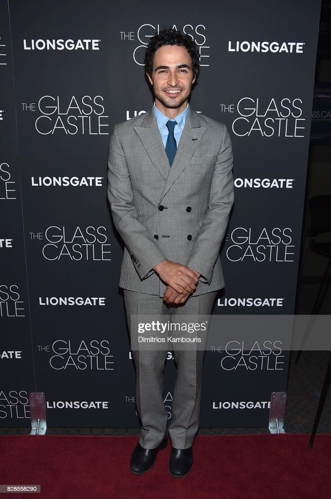 Designer Zac Posen attends 'The Glass Castle' New York Screening at SVA Theatre on August 9, 2017 in New York City.
