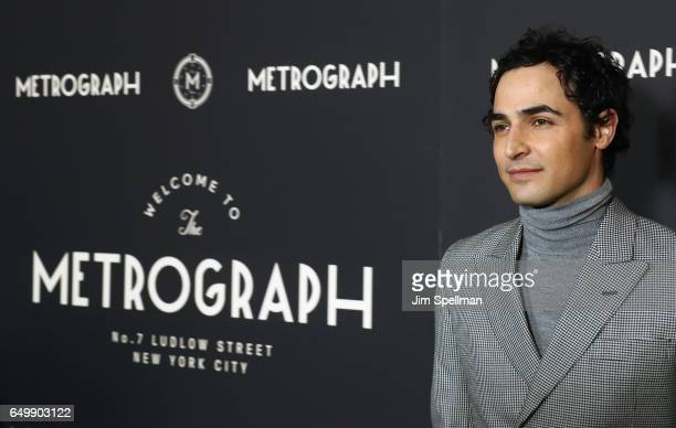 Designer Zac Posen attends the Metrograph 1st year anniversary party at Metrograph on March 8 2017 in New York City