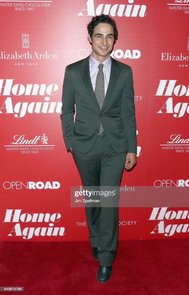 Designer Zac Posen attends the screening of Open Road Films' 'Home Again' hosted by The Cinema Society with Elizabeth Arden and Lindt Chocolate at The Paley Center for Media on September 6, 2017 in New York City.
