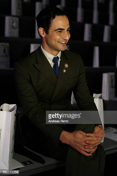 Designer Zac Posen is seen at the rehearsal ahead of the 'Designer for Tomorrow' by Peek Cloppenburg and Fashion ID show during the MercedesBenz...