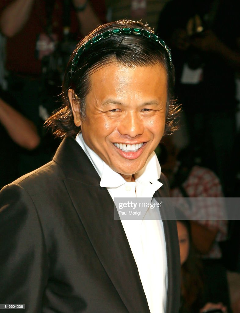 Designer Zang Toi at the Zang Toi fashion show during New York Fashion Week: The Shows at Gallery 3, Skylight Clarkson Sq on September 13, 2017 in New York City.