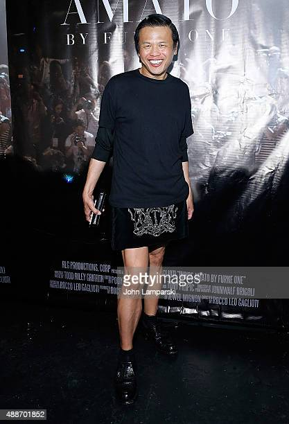 Designer Zang Toi attends 'Inside Amato' New York premiere at Liberty Theater on September 16 2015 in New York City