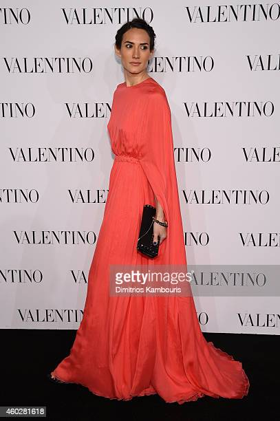 Designer Zani Gugelmann attends the Valentino Sala Bianca 945 Event on December 10 2014 in New York City
