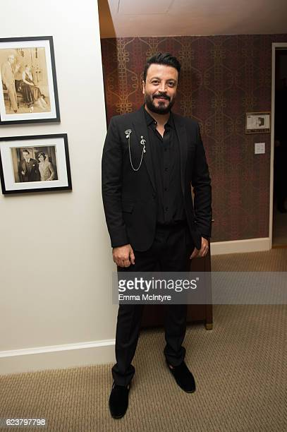 Designer Zuhair Murad attends the Zuhair Murad cocktail party at Sunset Tower Hotel on November 16 2016 in West Hollywood California