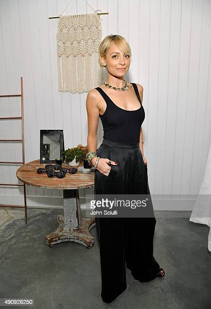 Designer/Actress Nicole Richie attends House Of Harlow 1960 with Nicole Richie and Nathan Turner at The Village at Westfield Topanga on October 1...