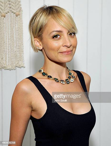 Designer/Actress Nicole Richie attends House Of Harlow 1960 with Nicole Richie and Nathan Turner at The Village at Westfield Topanga on October 1,...