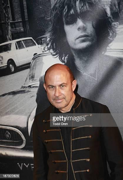 Designer/author John Varvatos arrives to the John Varvatos Rock In Fashion book launch celebration held at John Varvatos Los Angeles on November 7...