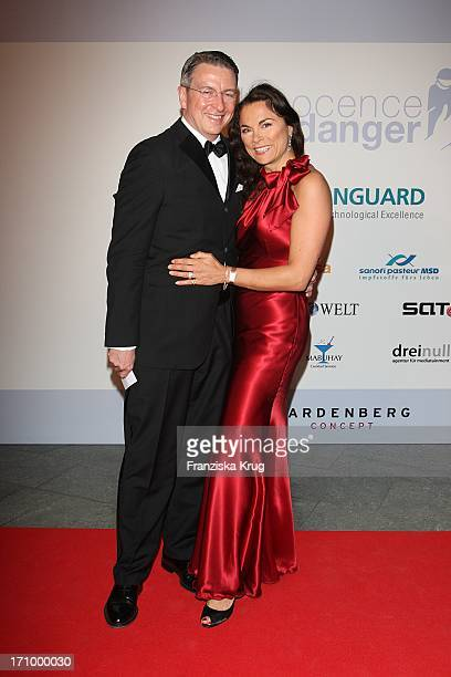 Designerin Anna Von Griesheim Und Ehemann Andreas Marx Bei Der Internationalen Gala Art For Children Zugunsten Der Organisation Innocence In Danger...