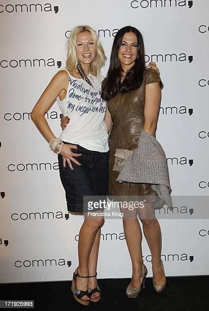 Designerin Mia Florentine Weiss Und Schauspielerin Bettina Zimmermann Beim Comma Store ReOpening In Hamburg