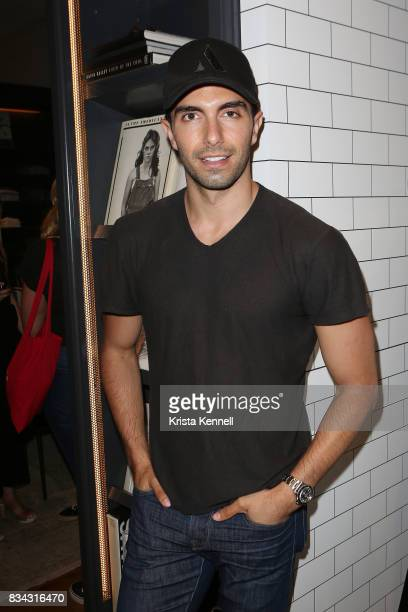 Designer/Model Akin Akman attends the Todd Snyder x Akin's Army Collaboration Launch at Todd Snyder Flagship Store on August 17 2017 in New York City