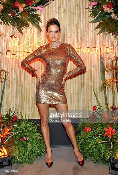 Designer/model Alessandra Ambrosio attends Ale by Alessandra X REVOLVE at Revolve Social Club on October 19 2016 in Los Angeles California