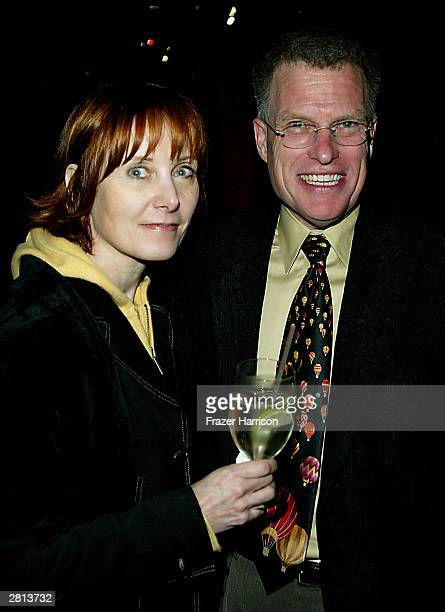 Designers Abigail Murray and Dan Ramsey at the Costume Designers Guild's Announcement of their 2004 recipients of Honorary Awards at Feinstein's at...