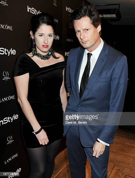 Designers Amy Molyneaux and Percy Parker attend the InStyle Best of British Talent party in association with Lancome and Charles Worthington at...