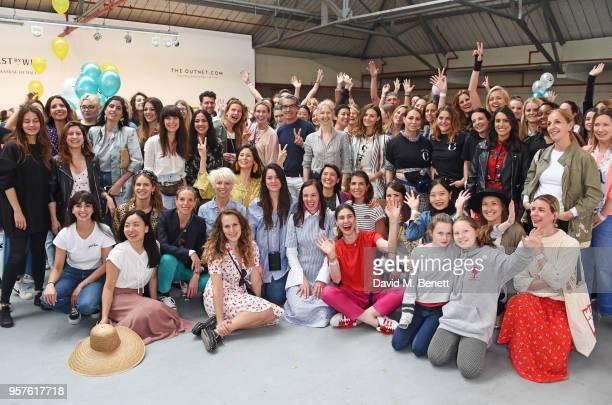Designers and volunteers including Zara Martin Eugenie Niarchos Tiphaine de Lussy Charlotte Dellal Alex Eagle Brita Fernandez Schmidt Hikari Yokoyama...
