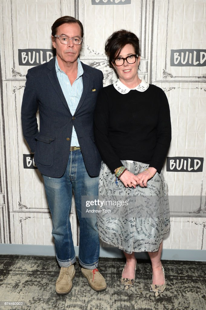 Designers Andy Spade And Kate Spade Attend AOL Build Series To Discuss  Their Latest Project Frances