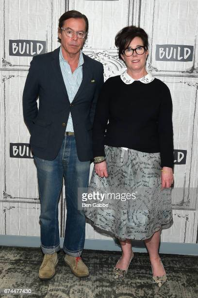 Designers Andy Spade and Kate Spade attend the Build Series at Build Studio on April 28 2017 in New York City