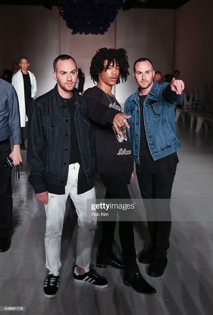 NY: Ovadia & Sons - Backstage - New York Fashion Week: Men's S/S 2017