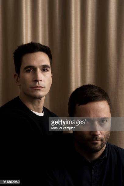 Designers at Proenza Schouler Lazaro Hernandez and Jack McCollough are photographed for El Pais on October 19 2017 in London England