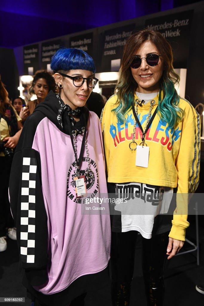 DB Berdan - Backstage - Mercedes Benz Fashion Week Istanbul - March 2018