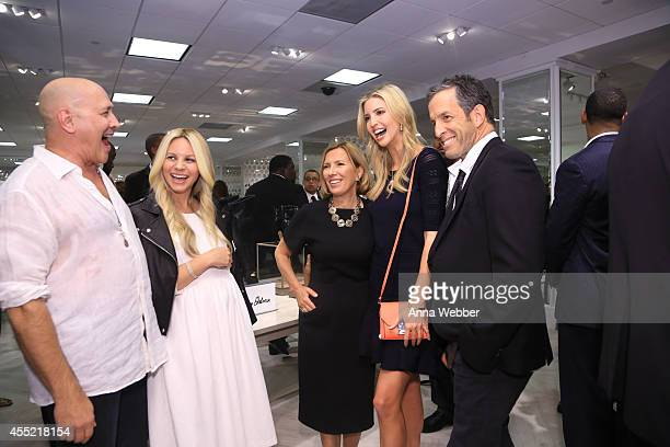 Designers Carmen Marc Valvo Creative Director of BCBGeneration Joyce Azria President of Lord Taylor Liz Rodbell Ivanka Trump and Kenneth Cole attend...