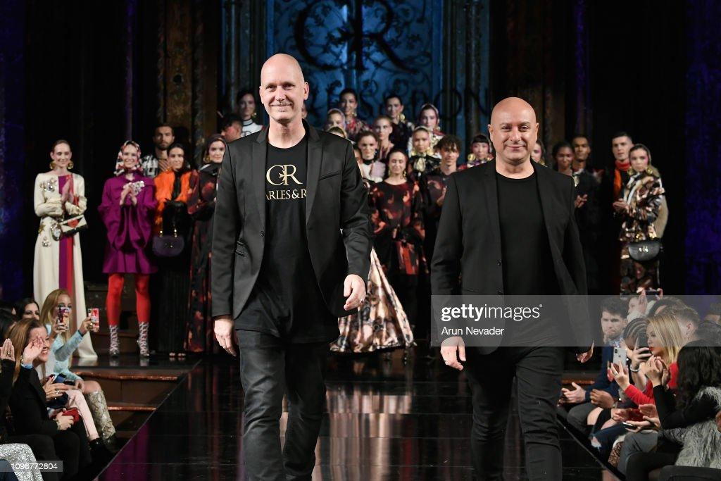 CHARLES AND RON At New York Fashion Week Powered By Art Hearts Fashion NYFW : News Photo