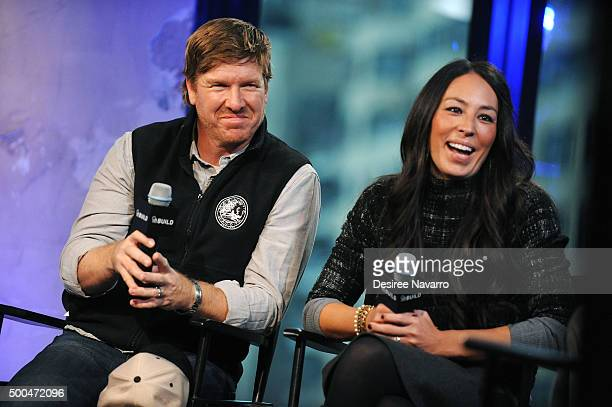 Designers Chip Gaines and Joanna Gaines attend AOL Build Presents 'Fixer Upper' at AOL Studios In New York on December 8 2015 in New York City