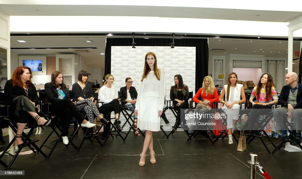 The Collective Launch Event At Bloomingdale's 59th Street In New York City