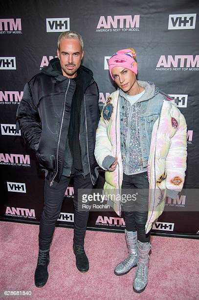 Designers David Blond and Phillipe Blond attend VH1's 'America's Next Top Model' Premiere at Vandal on December 8 2016 in New York City