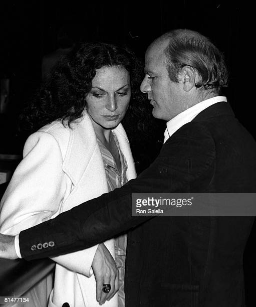 Designers Diane von Furstenberg and Barry Diller attending the party for 'Gato Barbiere' on October 20 1977 at Studio 54 in New York City New York