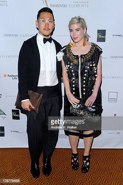 Designers Eudon Choi and Kirsty Ward attend the WGSN Global Fashion Awards at Gotham Hall on October 20 2011 in New York City