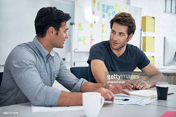 Designers in discussion