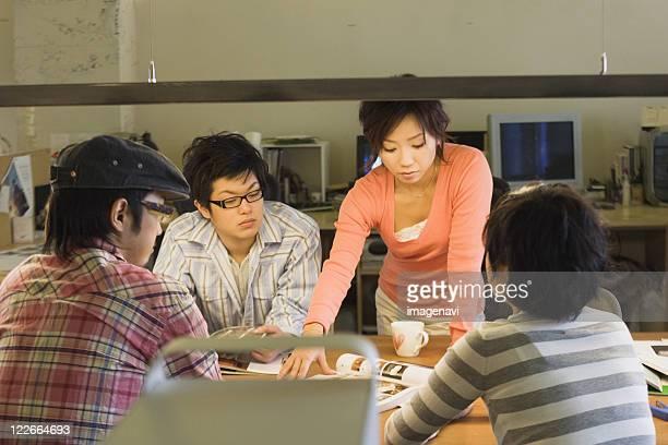 Designers in Meeting