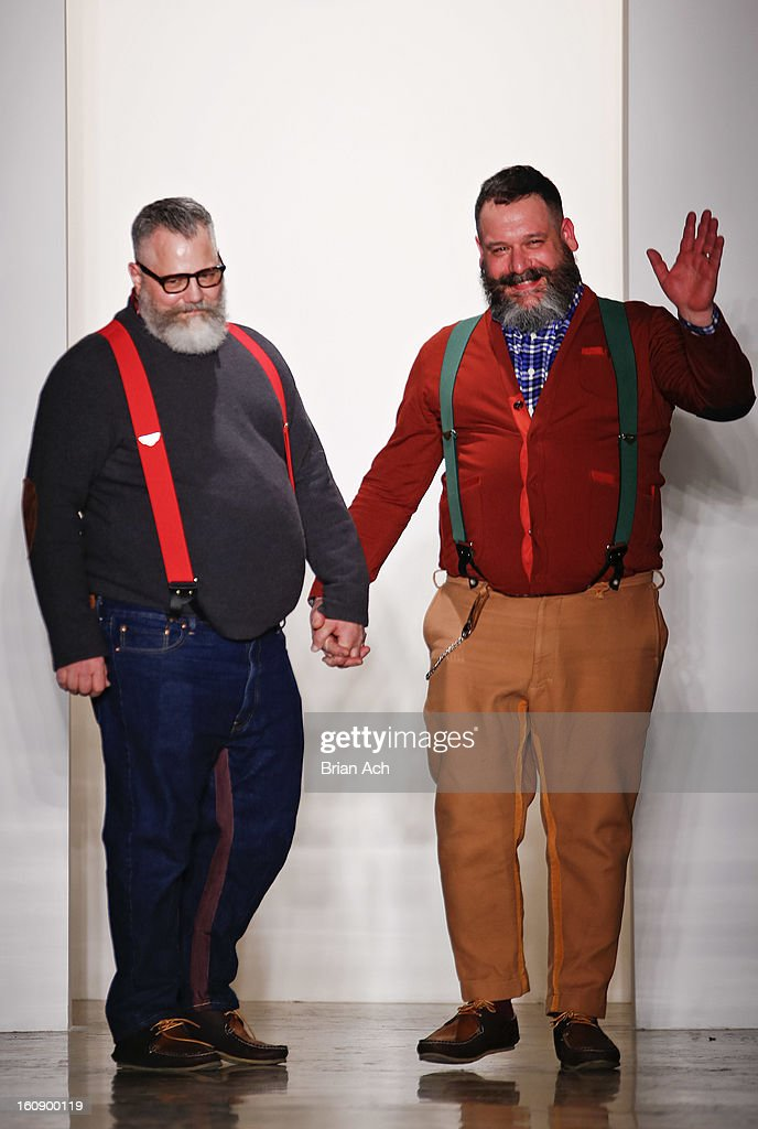 Designers Jeffrey Costello And Robert Tagliapietra Appear On The News Photo Getty Images