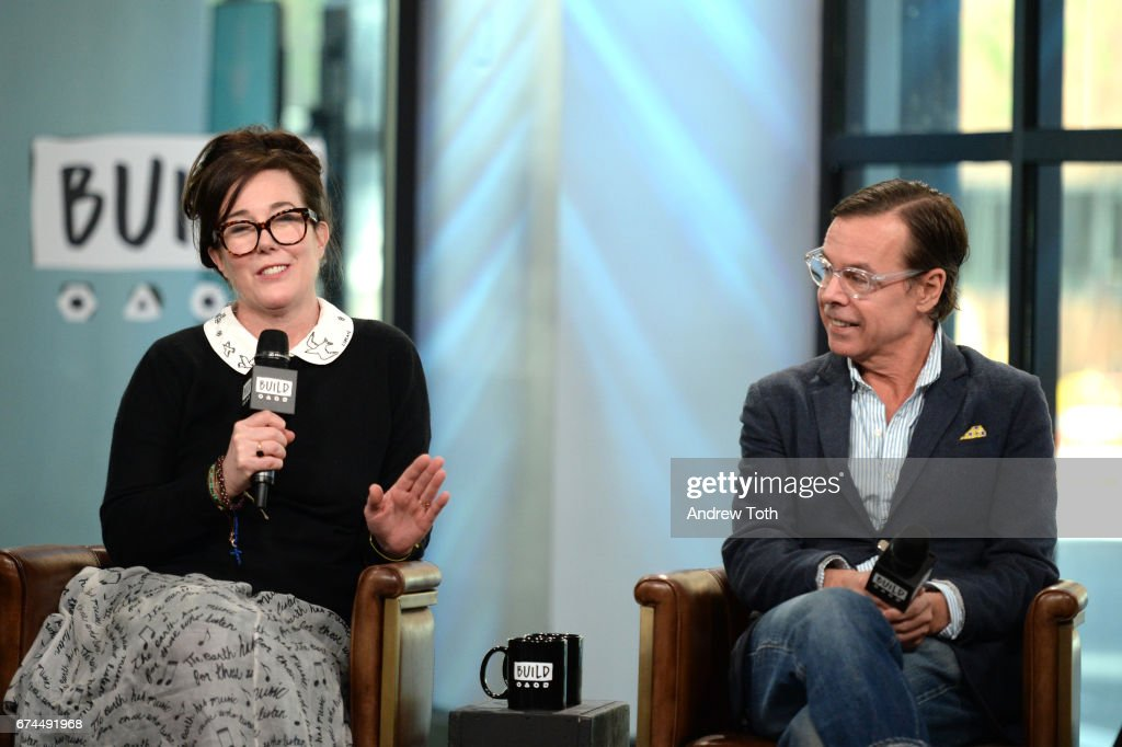 Schön Designers Kate Spade And Andy Spade Attend AOL Build Series To Discuss  Their Latest Project Frances