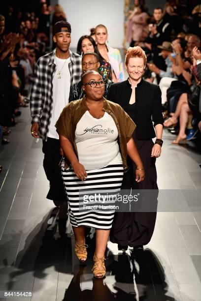 New York Fashion Week September  Kenya Freeman