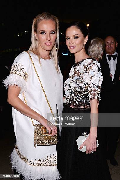 Designers Keren Craig and Georgina Chapman attend the 2014 CFDA Fashion Awards at Alice Tully Hall Lincoln Center on June 2 2014 in New York City
